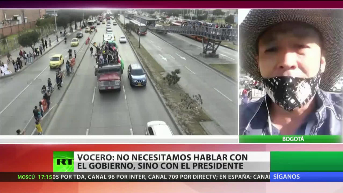 Colombia: El vocero de la marcha indígena insiste en el diálogo con Duque, no con el Gobierno