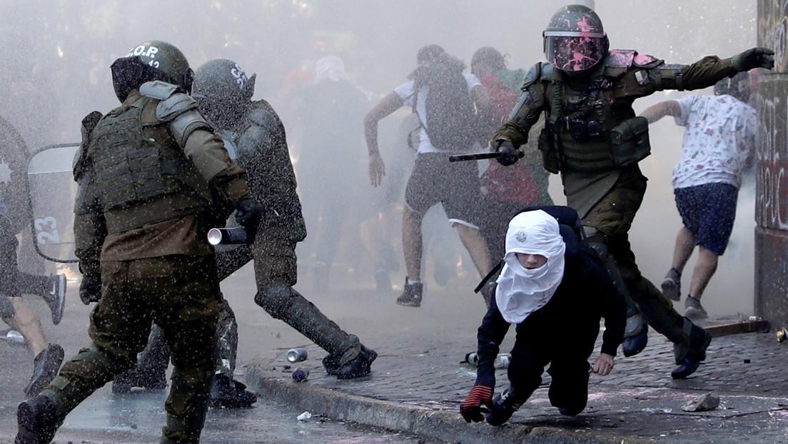 Chile, un campo de batalla en mitad de un polvorín