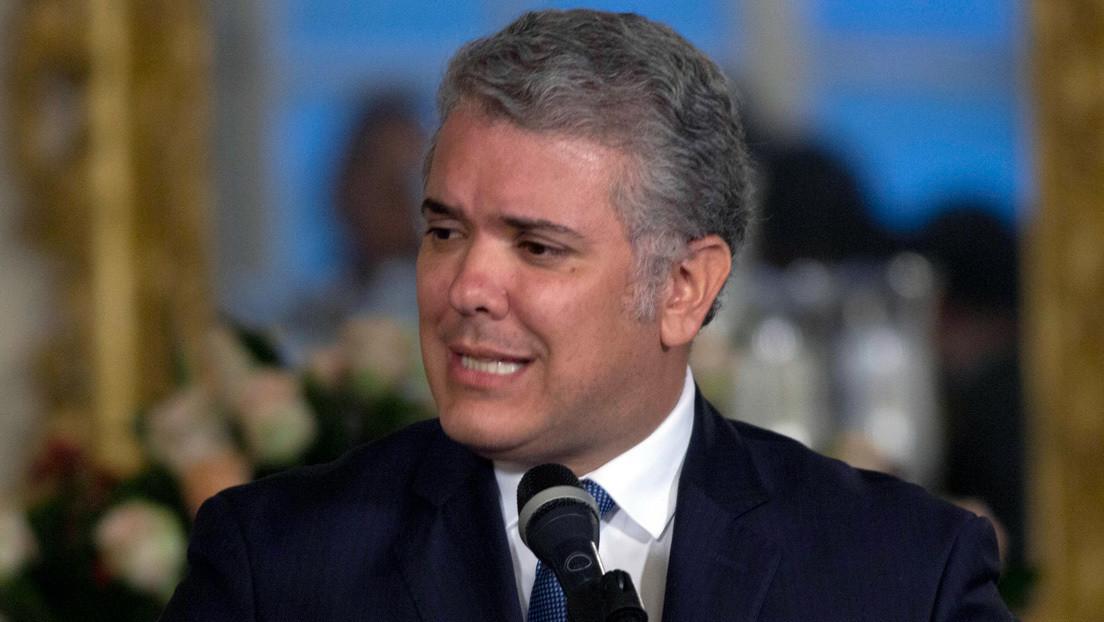 """Presidente de Colombia critica la movilización indígena que busca reunirse con él en Bogotá por poner """"en riesgo la salud y la vida"""""""