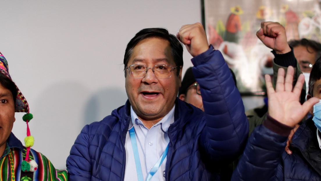 VIDEO: Momento en que Luis Arce y su equipo de campaña se enteran de que los resultados preliminares les dan la victoria en las elecciones de Bolivia