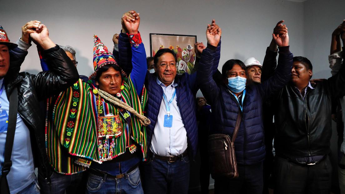 Con más de la mitad de las actas escrutadas en Bolivia, Luis Arce sería el ganador en primera vuelta
