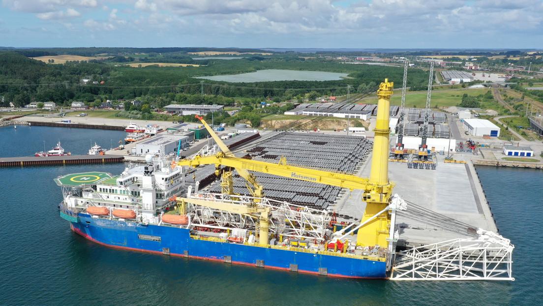 EE.UU. extiende las sanciones al Nord Stream 2 a empresas que participan en la modernización de los buques que instalan el gasoducto