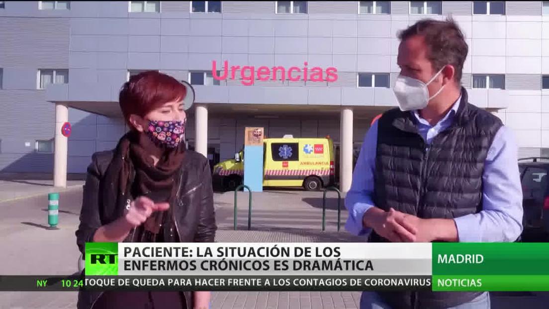 Pacientes de Madrid denuncian que los enfermos crónicos viven una situación dramática