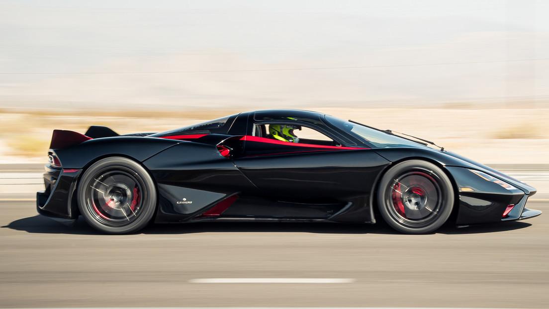 SSC Tuatara es el auto más rápido del mundo