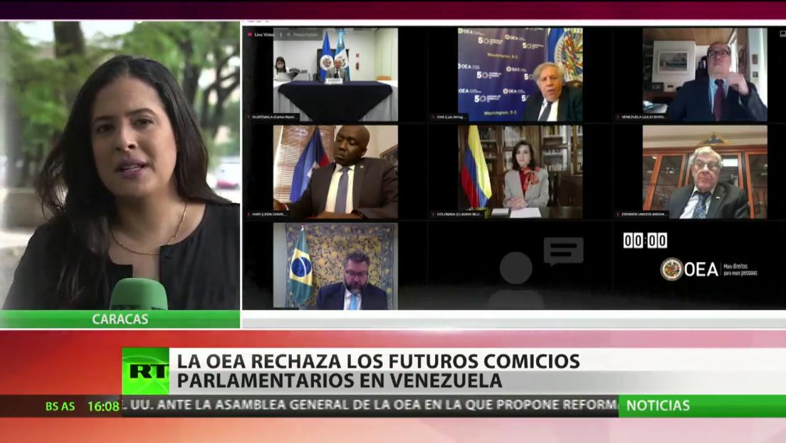 La OEA rechaza los futuros comicios parlamentarios en Venezuela