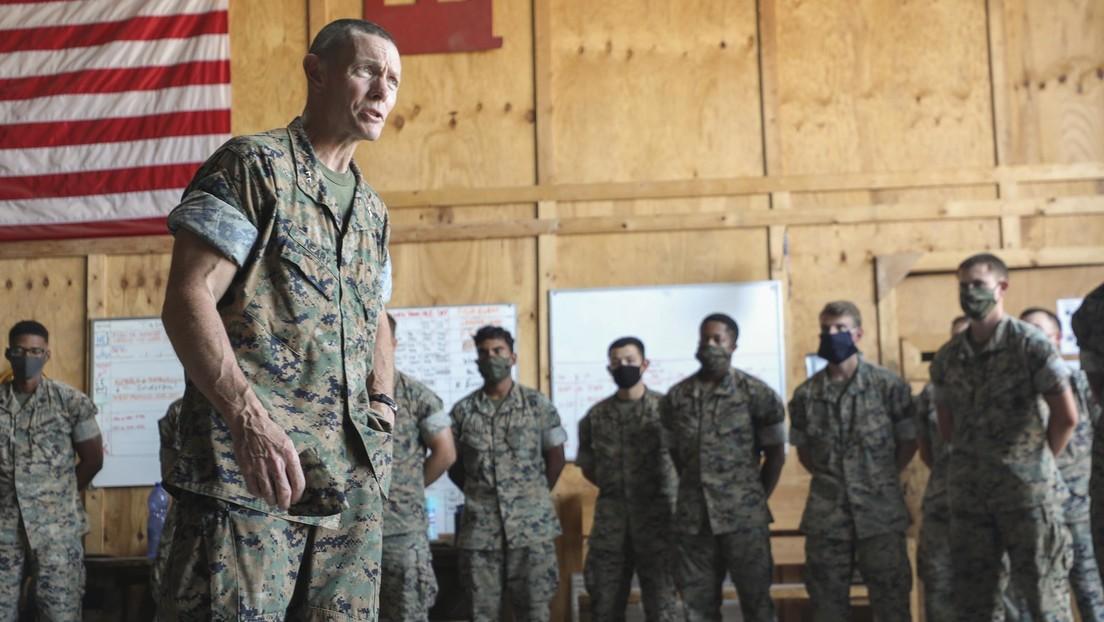Un alto militar de EE.UU. repite un insulto racista de una canción de rap que escuchaban los marines, acaba suspendido y bajo investigación