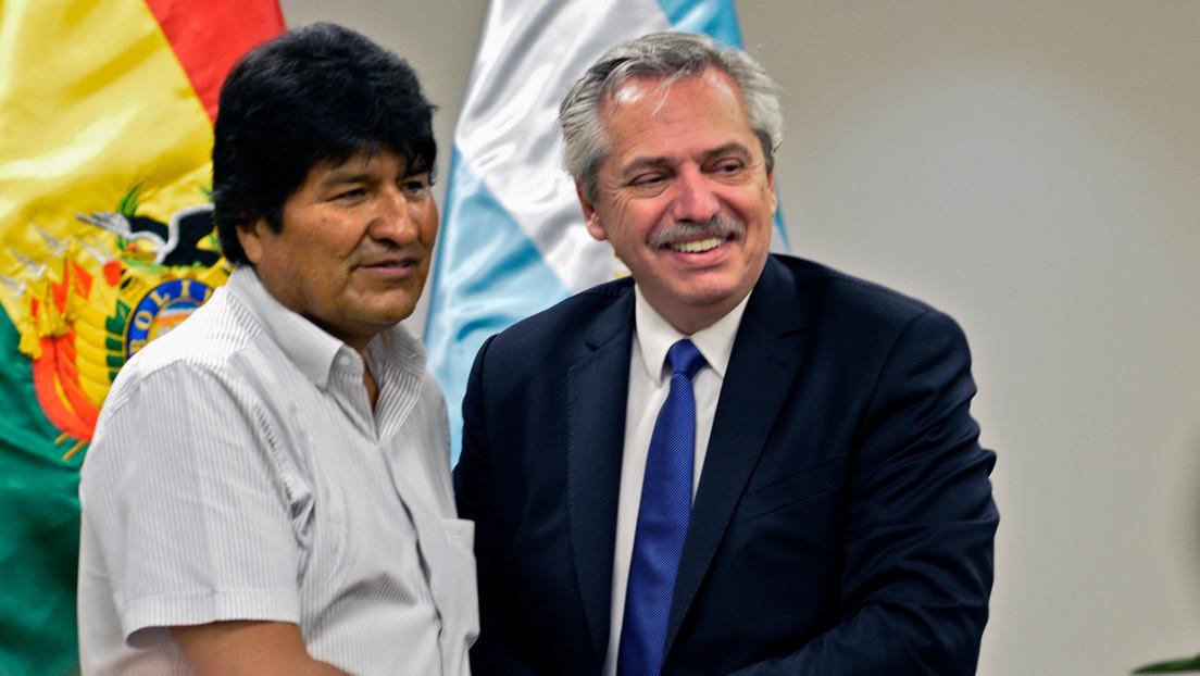 """Alberto Fernández: """"Quiero acompañar a Evo de regreso a Bolivia, a su casa de verdad"""""""