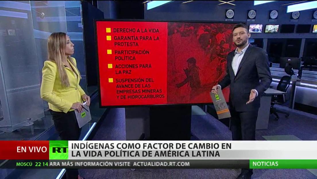 Indígenas como factor de cambio en la vida política de América Latina