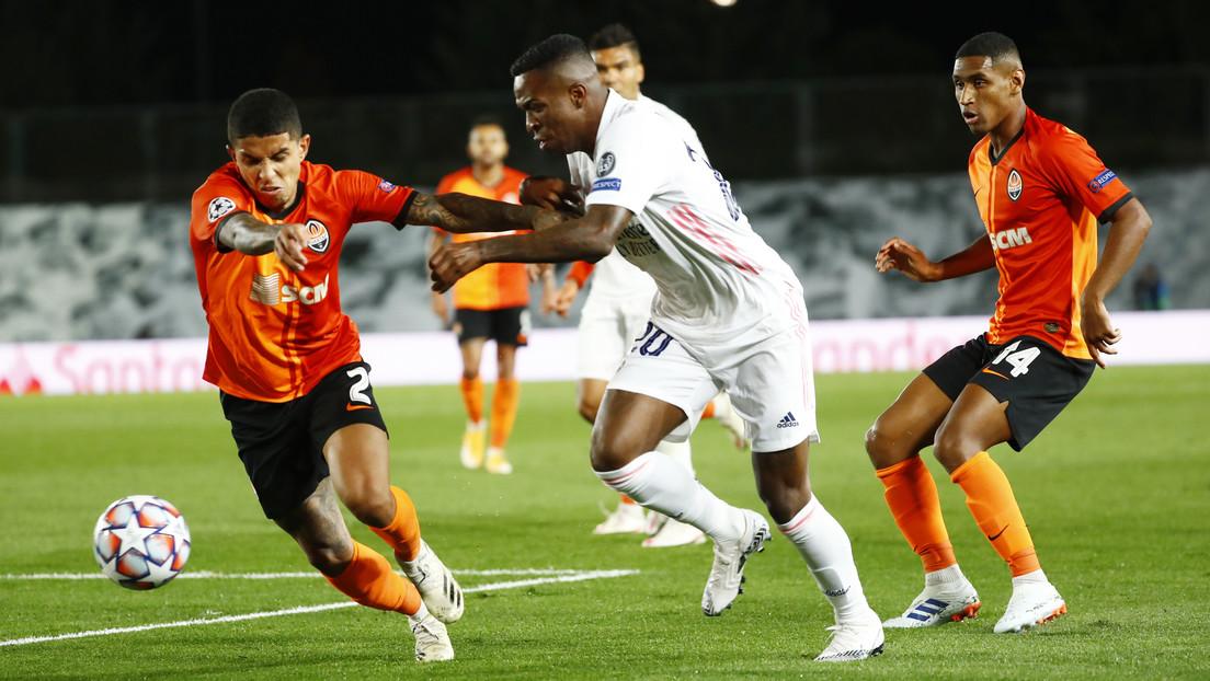 El Real Madrid recibe 3 goles seguidos, sufre una inesperada derrota ante el Shakhtar Donetsk en Liga de Campeones y las redes no se lo perdonan