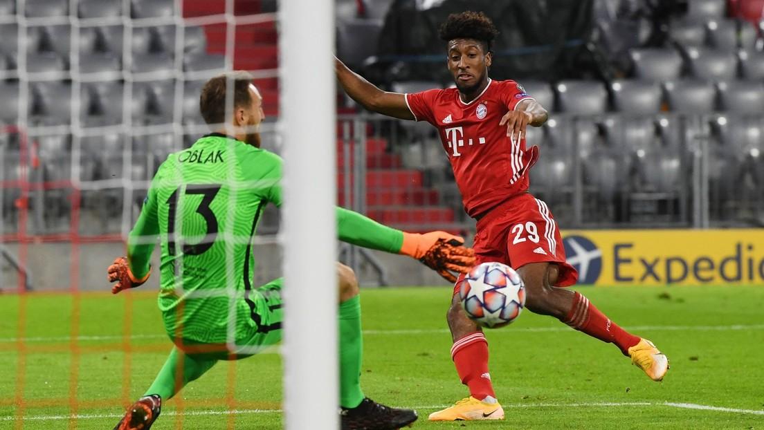 El Bayern de Múnich derrota al Atlético de Madrid en el inicio de la Liga de Campeones, con doblete de Kingsley Coman (VIDEOS)