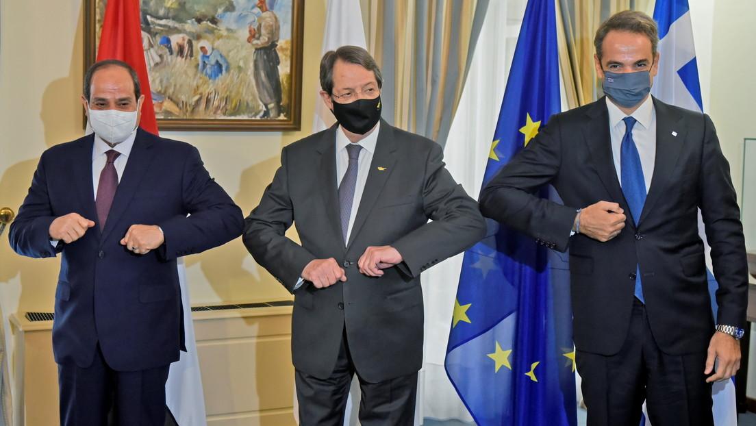 """Grecia, Egipto y Chipre condenan las """"actividades ilegales"""" de Turquía en el Mediterráneo oriental"""