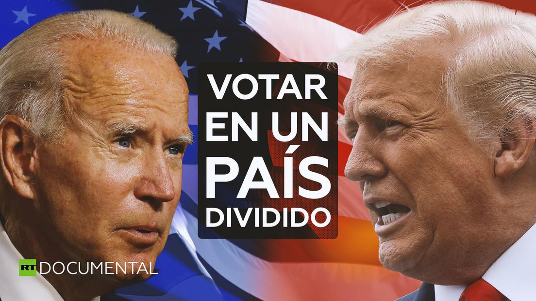 Votar en un país dividido