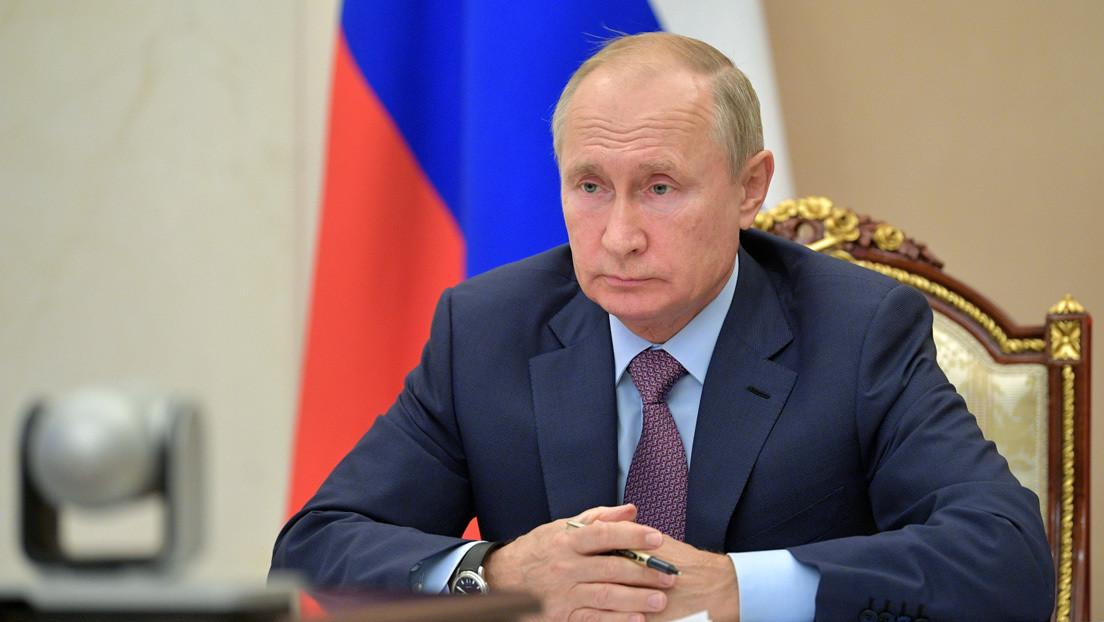 """Putin: """"La pandemia de coronavirus nos demostró que debemos actuar juntos, pero no ha enseñado a la humanidad a unirse al 100 %"""""""