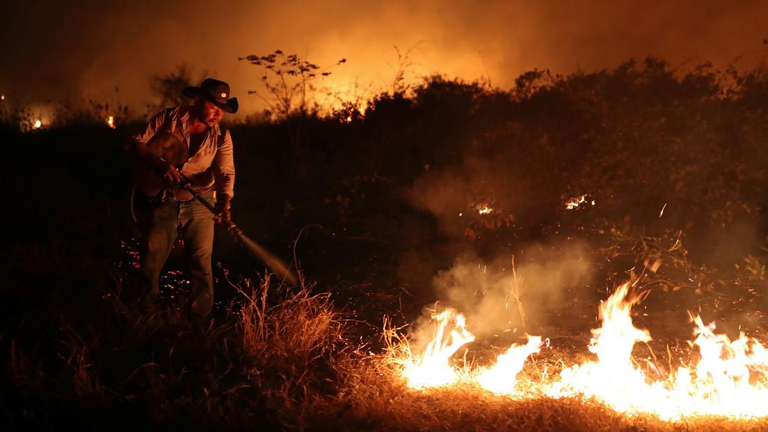 El órgano ambiental de Brasil suspende el combate a los incendios en todo el país por falta de dinero