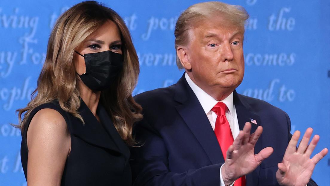 VIDEO: Melania y Donald Trump se sueltan de la mano tras el segundo debate presidencial y la Red no tarda en reaccionar