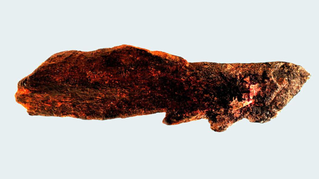 Descubren pieza de hueso más antigua de su tipo