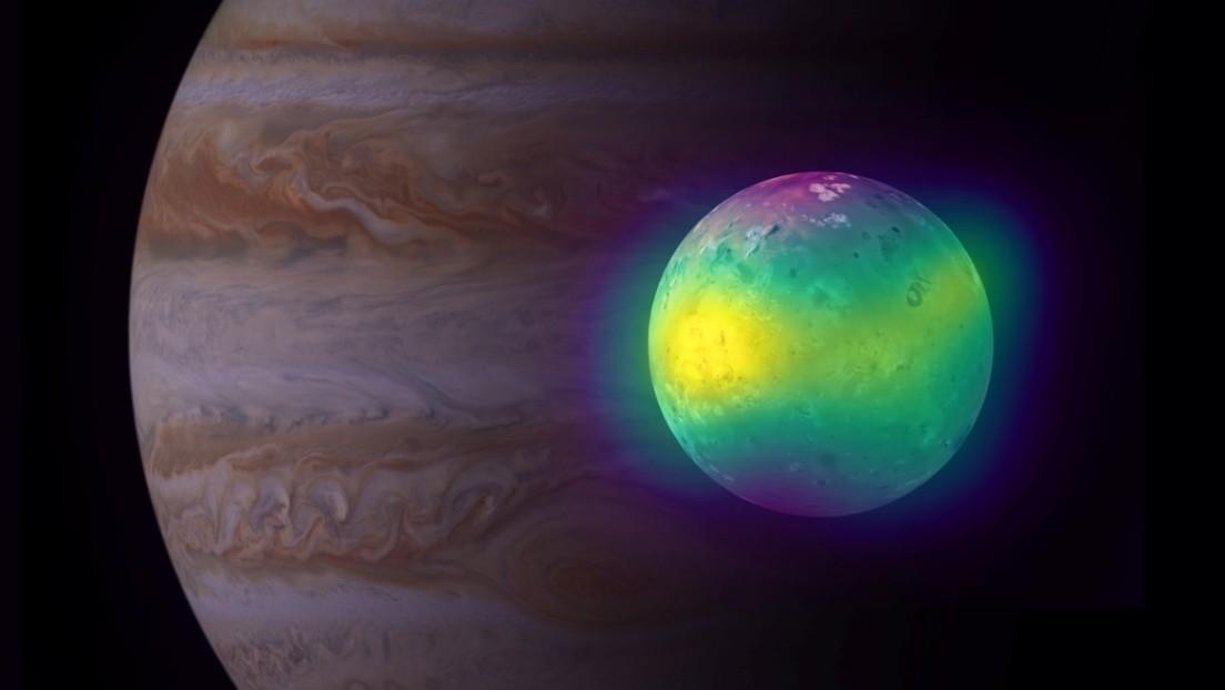 Observan por primera vez efectos de vulcanismo en la atmósfera de la luna joviana Ío