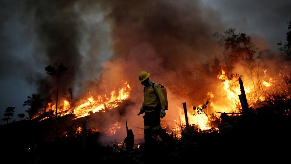 El órgano ambiental de Brasil reanuda el combate a los incendios tras suspenderlos por falta de dinero