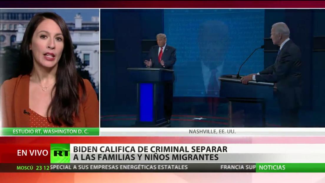 Trump y Biden exponen diferencias en su último debate presidencial