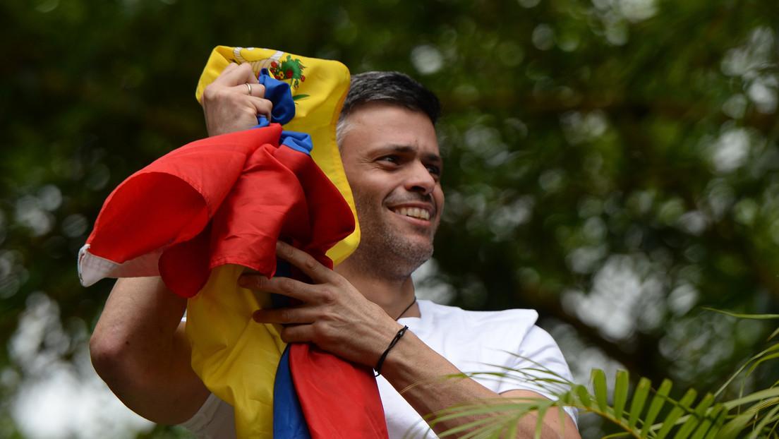 El opositor venezolano Leopoldo López ha abandonado la Embajada española en Caracas