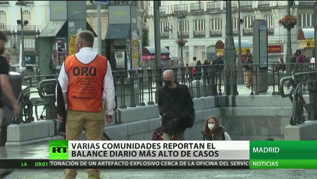 Europa sobrepasa las 250.000 muertes y Chile supera los 500.000 contagios por coronavirus