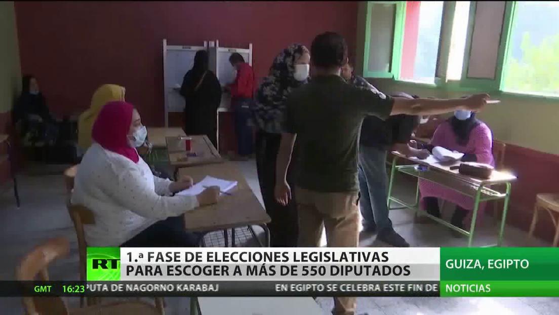 Se acaba la primera fase de elecciones legislativas en Egipto
