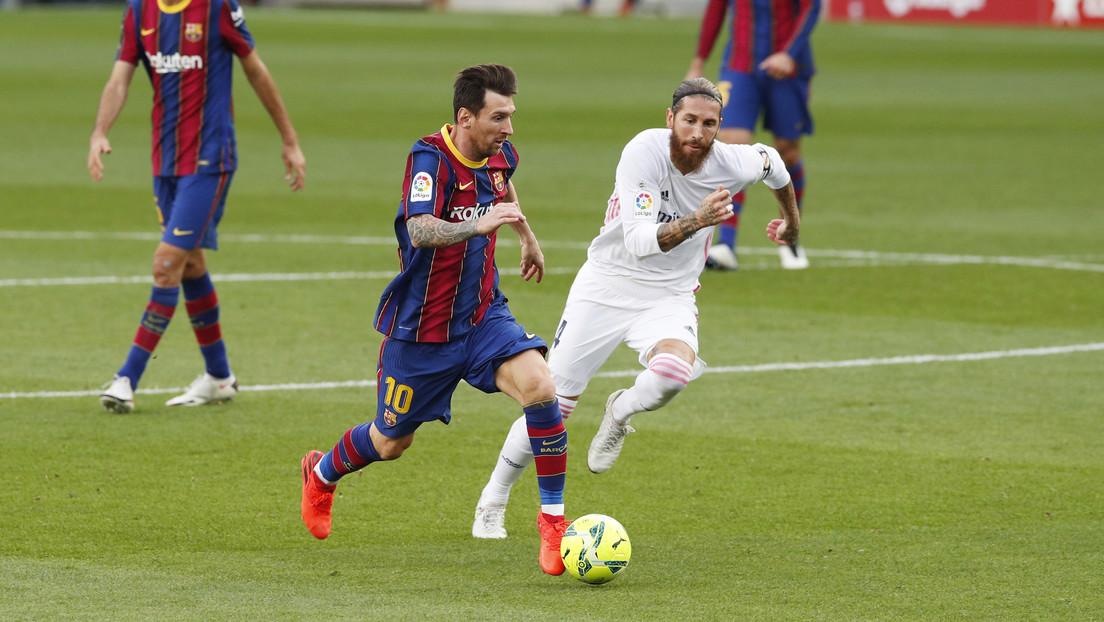 El Real Madrid derrota al F.C. Barcelona en el clásico y el VAR da qué hablar en las redes
