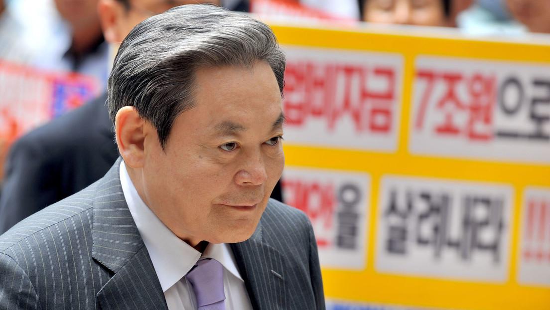 Fallece a los 78 años Lee Kun-hee, presidente del grupo Samsung y hombre más rico de Corea del Sur