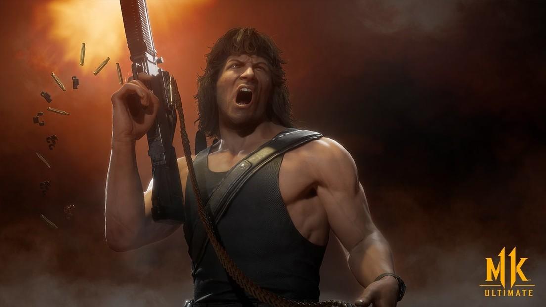 ¡Al fin! Llega Rambo a Mortal Kombat 11