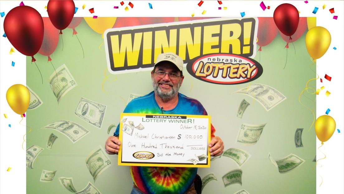 Un hombre gana el premio mayor de la lotería por segunda vez en el año