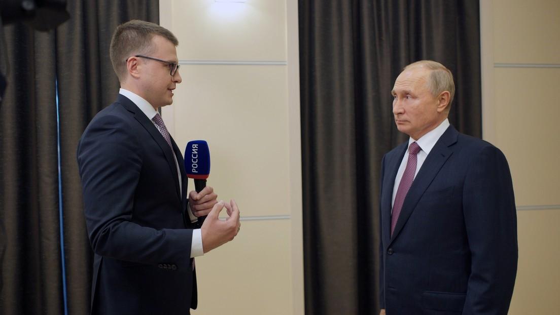 """""""Sin comentarios"""": Putin responde a las declaraciones de Trump sobre que Rusia paga a Biden"""