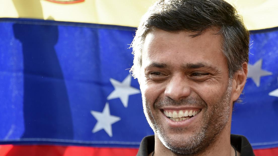El opositor venezolano Leopoldo López llega a España