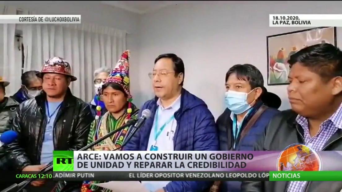El Movimiento al Socialismo retoma el poder en Bolivia luego que Luis Arce ganara en las elecciones