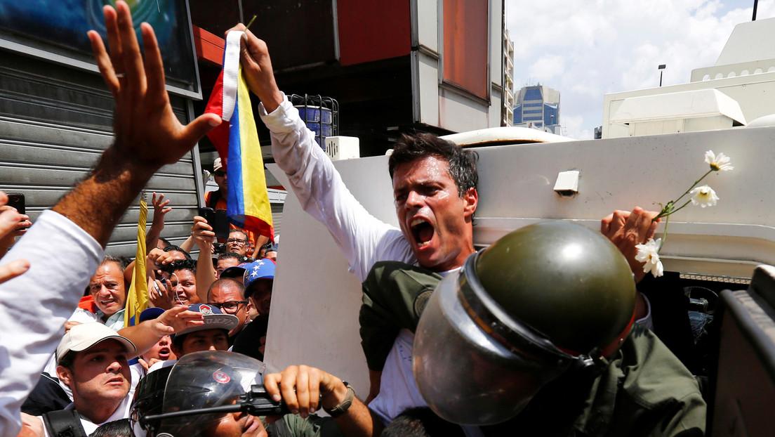 """Venezuela condena """"la práctica antidiplomática y hostil"""" de España por """"facilitar la fuga del terrorista Leopoldo López"""""""