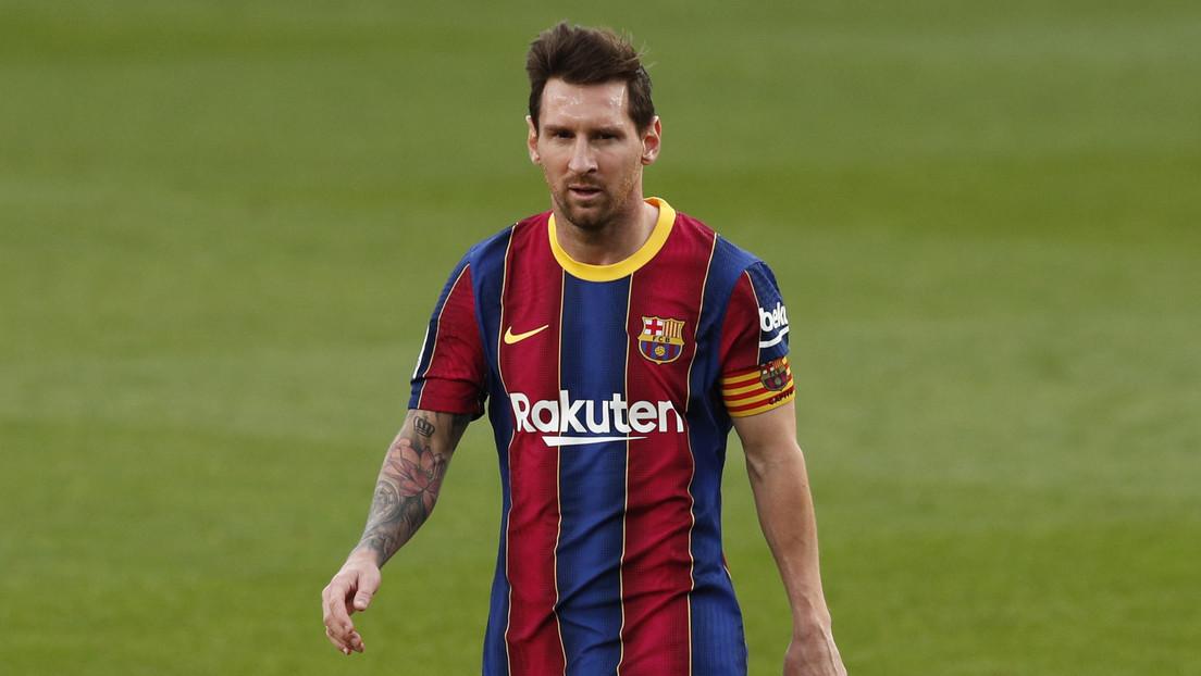 VIDEO: Filtran el reclamo de Messi al árbitro en el Clásico y que no se vio por televisión