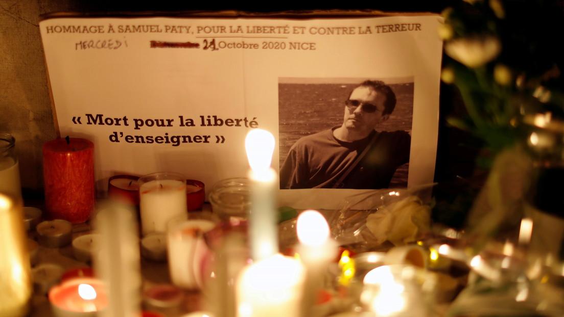 Detienen en Francia a un joven por dar 'me gusta' a una foto de Samuel Paty decapitado