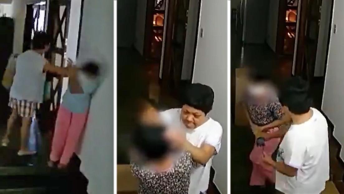 VIDEO: Unas grabaciones muestran cómo la embajadora de Filipinas en Brasil agrede repetidamente a una empleada en su residencia oficial