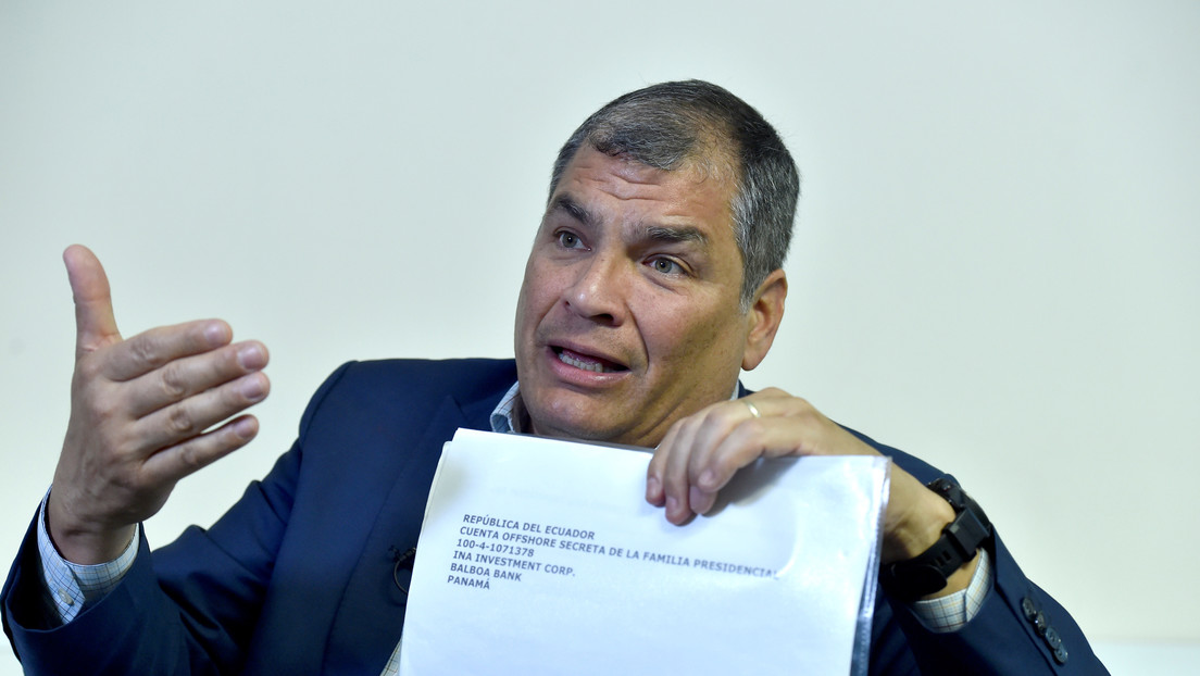 """Rafael Correa denuncia que la Justicia ecuatoriana ahora lo investiga por supuesto """"homicidio"""""""