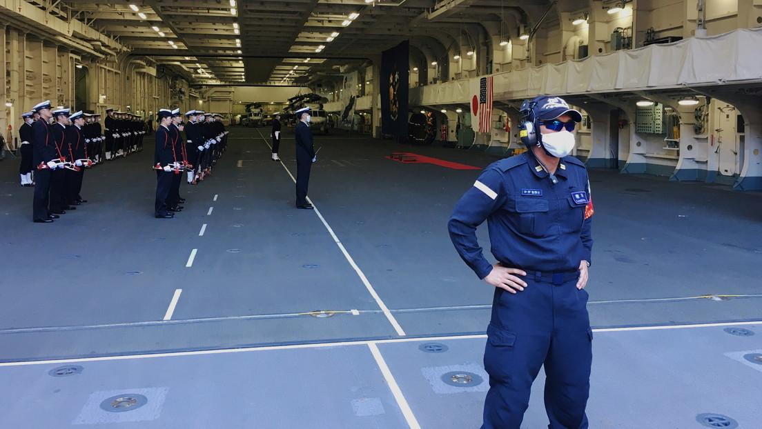 Japón y EE.UU. lanzan ejercicios militares masivos mientras Pekín intensifica su actividad en el mar de la China Oriental