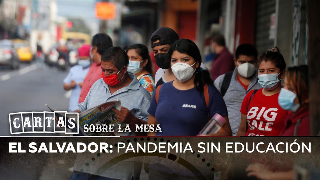 El Salvador: Pandemia sin educación