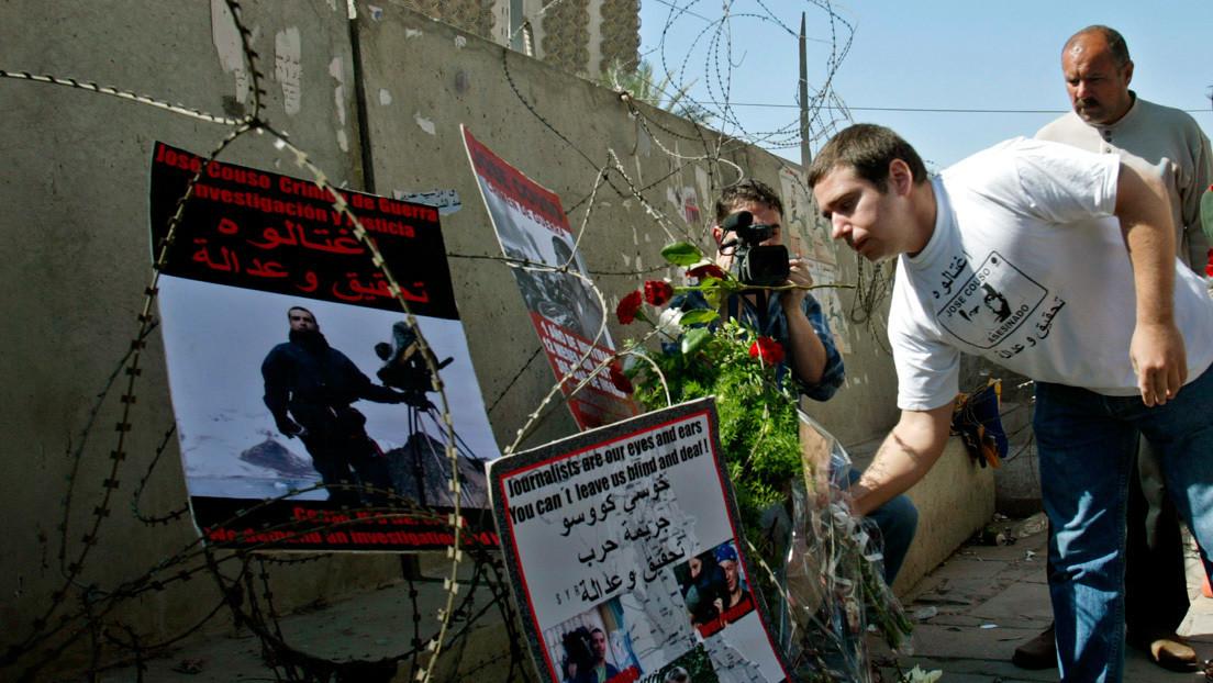 """David Couso, hermano del periodista español asesinado en Irak en 2003: """"España ha legitimado la impunidad para contentar a EE.UU."""""""