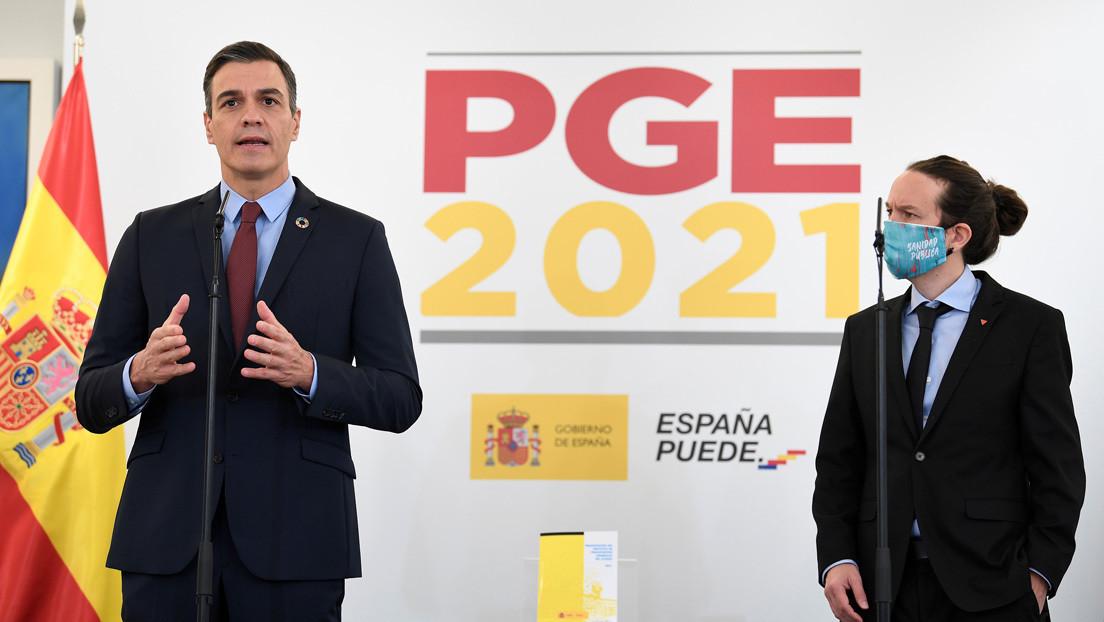 """Sánchez e Iglesias presentan unos presupuestos """"progresistas"""" para decir adiós a la """"etapa neoliberal"""""""