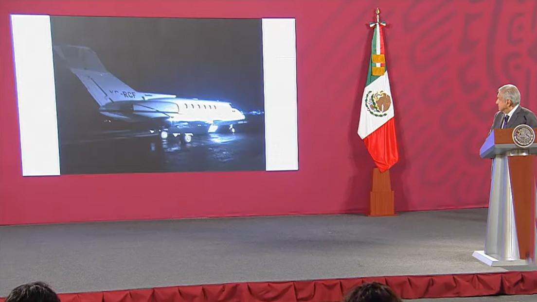 Decomisan un avión con tonelada y media de cocaína en el sur de México