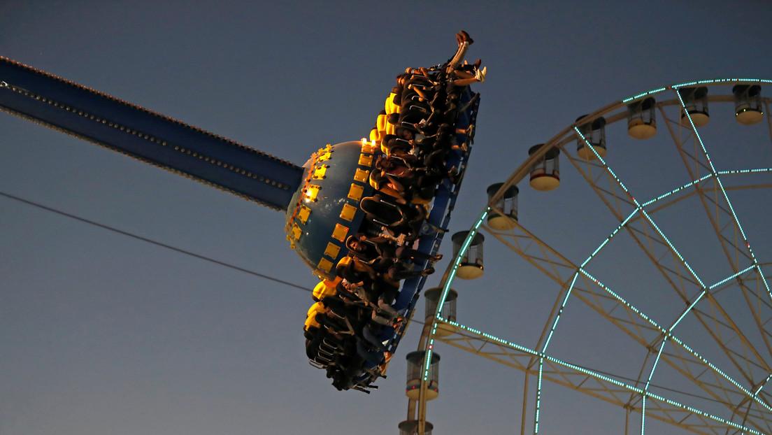 Una mujer cae desde 30 metros de altura en un parque de atracciones en Australia