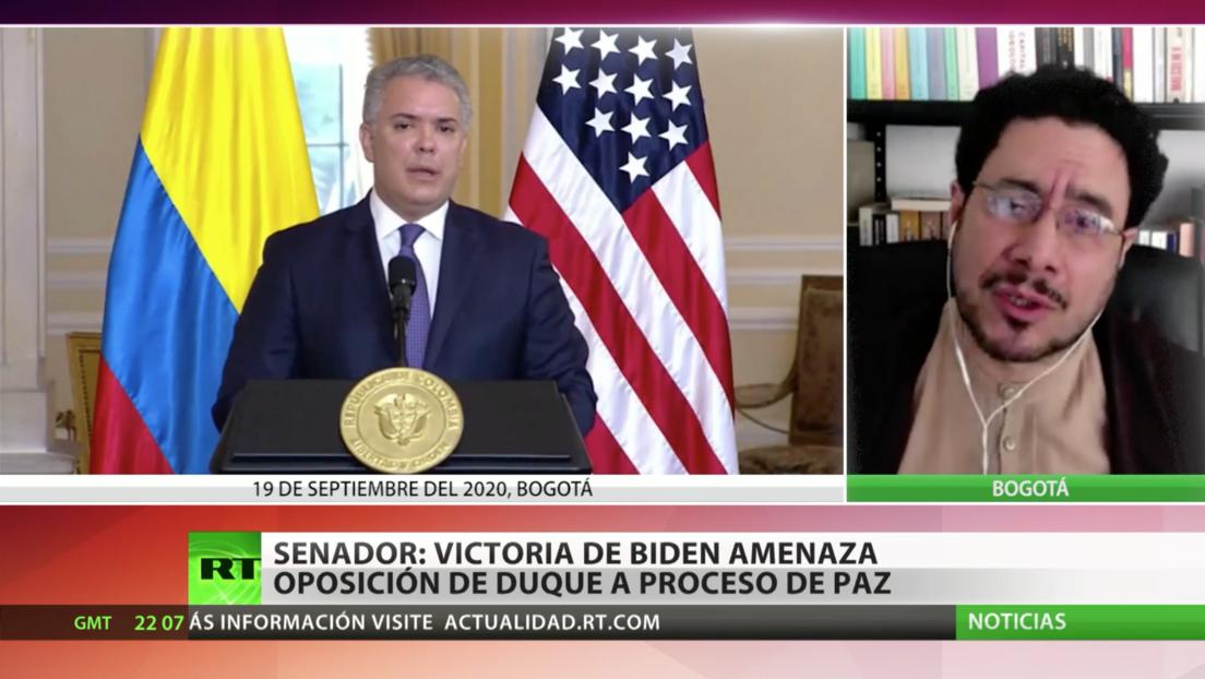 Senador colombiano acusa al Gobierno de Iván Duque de injerencia en las elecciones de EE.UU.