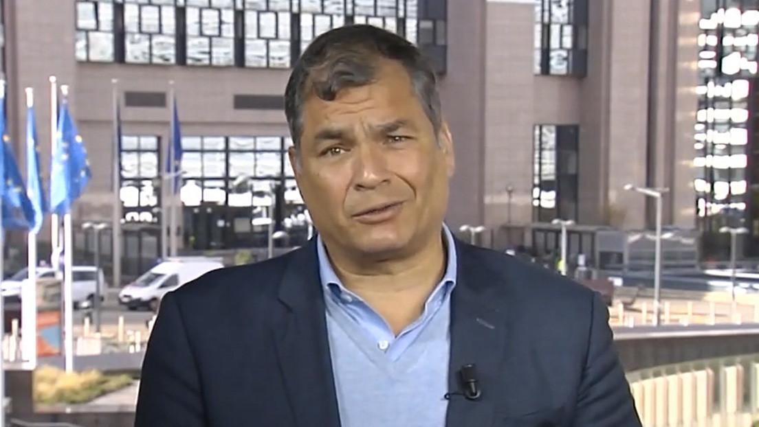 """""""Unasur existe todavía, pero ha sido gravemente herida por la traición"""": Correa manifiesta su esperanza por el rescate de este organismo regional"""