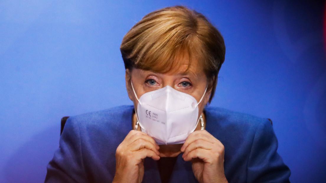 Merkel advierte de un posible colapso del sistema de Sanidad en Alemania por el coronavirus