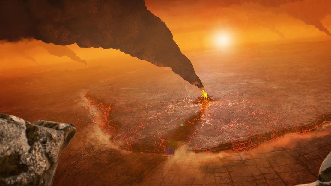 La NASA comparte una imagen de cómo se ve una erupción volcánica en Venus