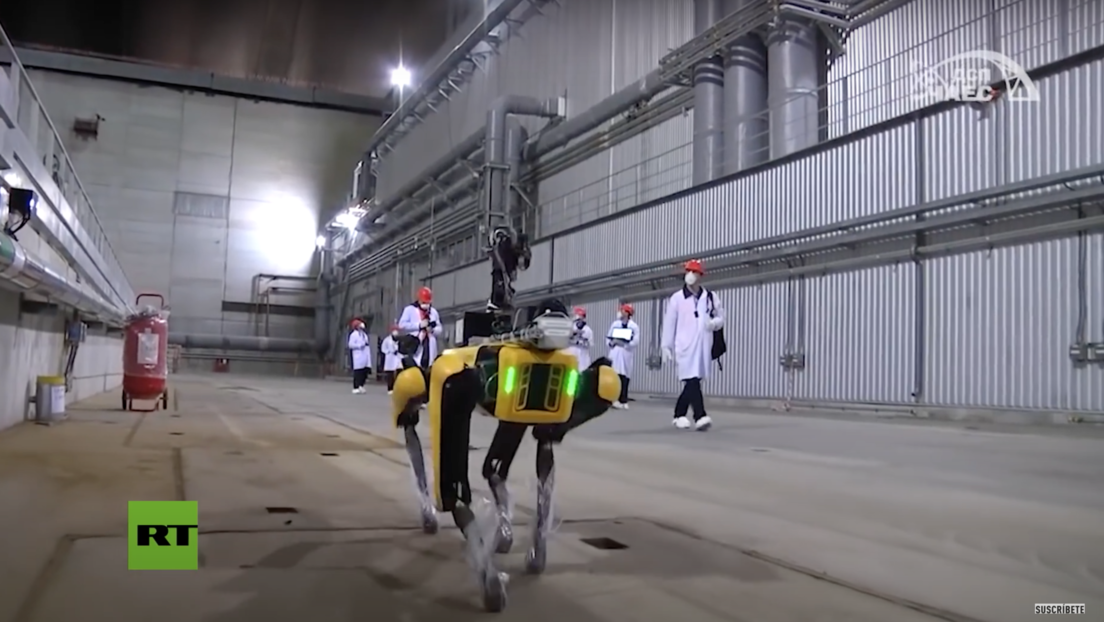 De película: el perro robot de Boston Dynamics busca radiación en la central nuclear de Chernóbil (VIDEO)