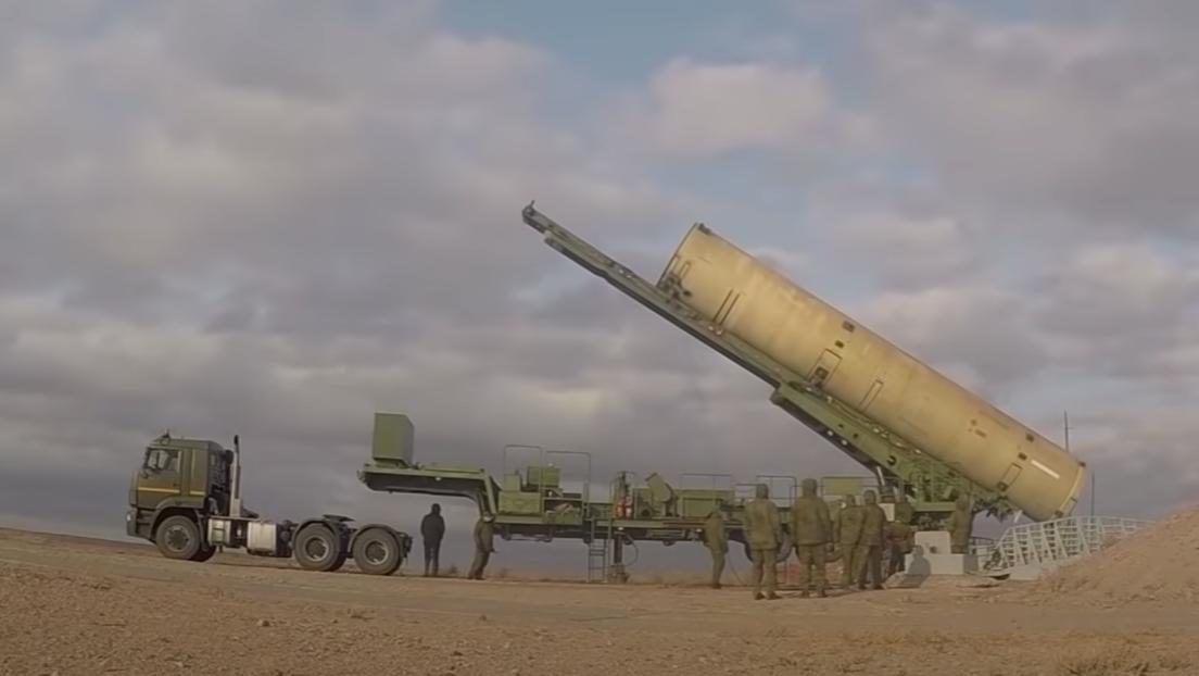 VIDEO: Rusia muestra su nuevo misil de defensa antiaérea en acción